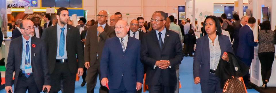 Primeiro Ministro de Cabo Verde visita Bolsa de Turismo de Lisboa