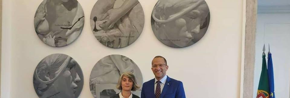 Ministros da Cultura de Cabo Verde e Portugal acertam em Lisboa novo impulso à cooperação