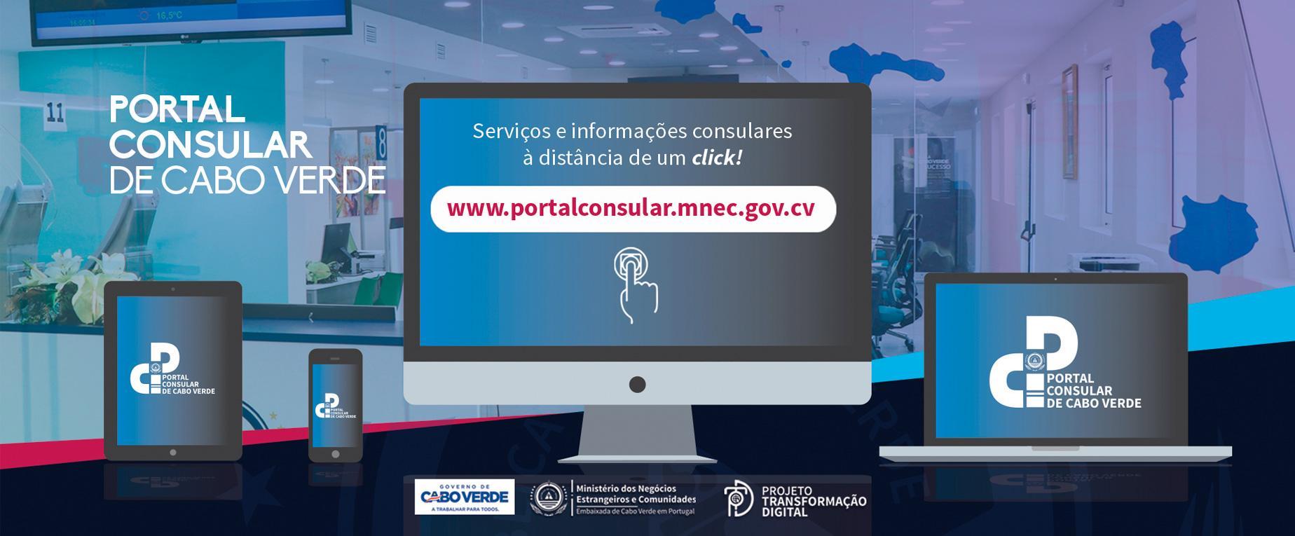 Lançamento do Portal Consular de Cabo Verde
